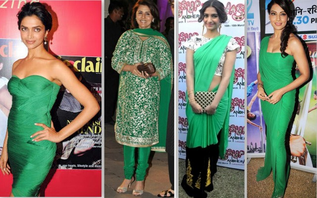 Emerald green bollywood 2