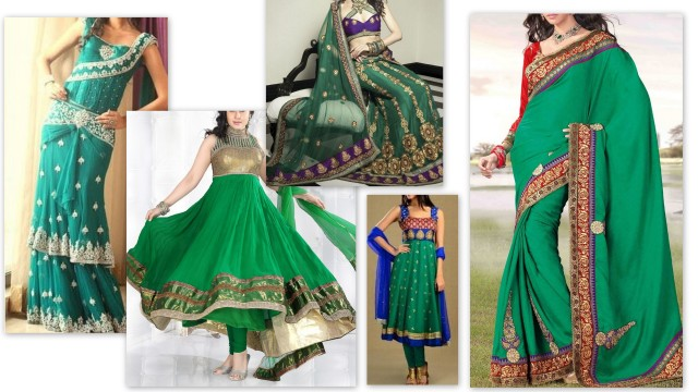 Emerald Green traditional