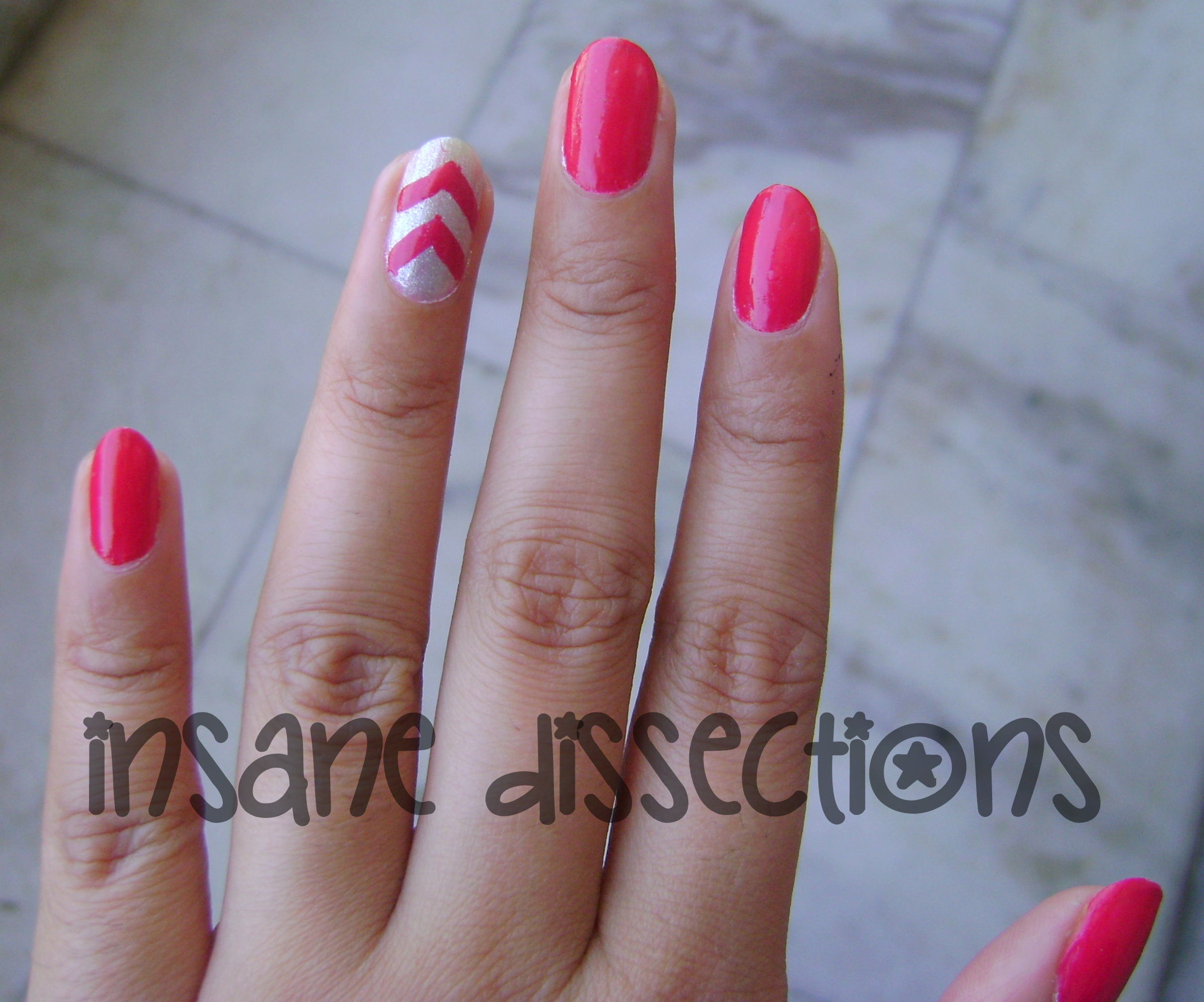 accent nail art | Insane Dissections