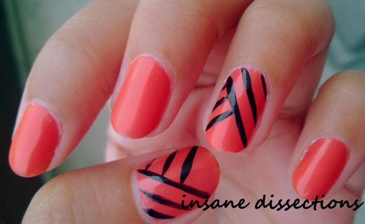orange fix nail art-1