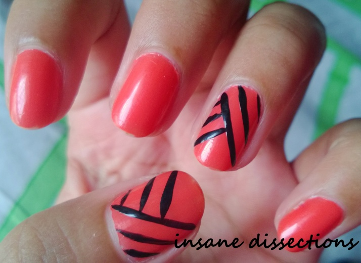 orange fix nail art-2