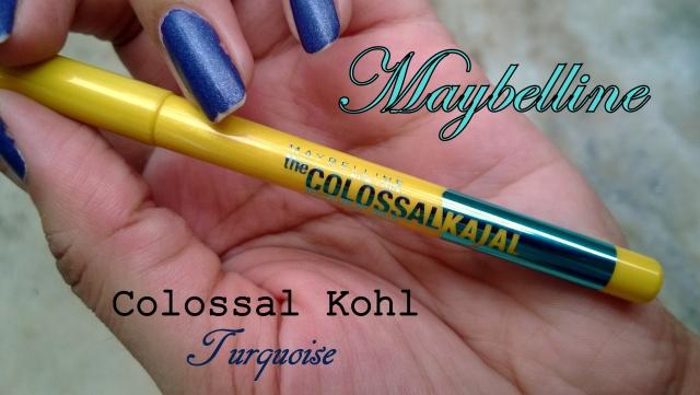 Maybelline turquoise