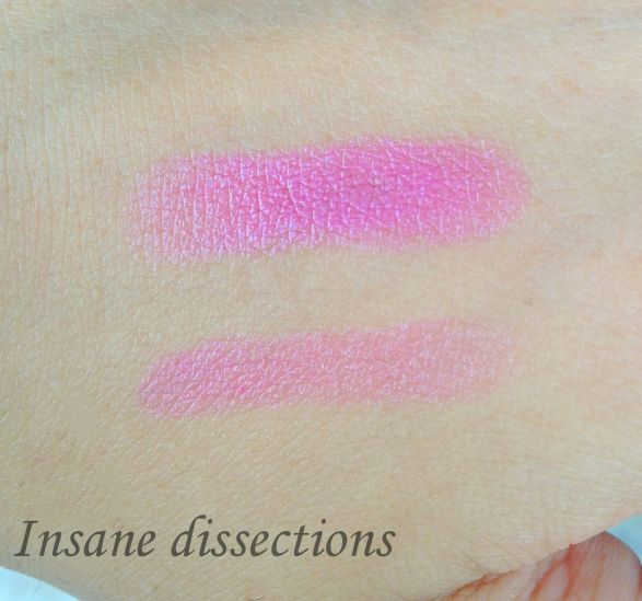 rose mademoiselle swatches