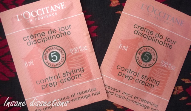 L'Occitane en provence styling cream