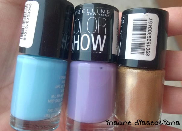 maybelline color show polishes