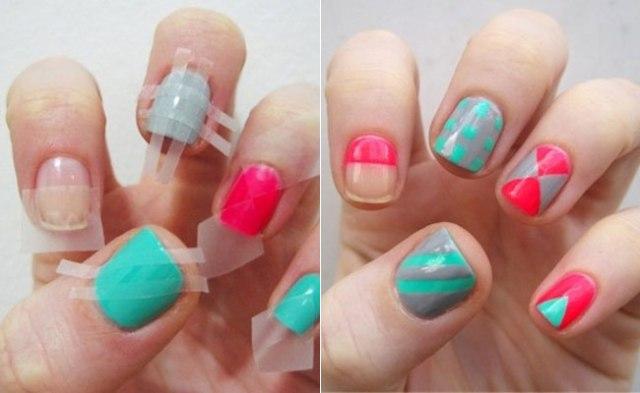 nail-design-using-tape-3