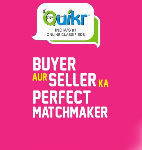 quikr buyer aur seller ka perfect matchmaker