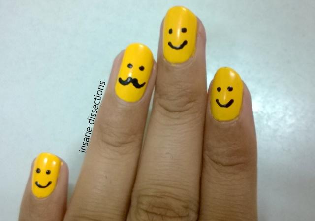 moustache nails 2