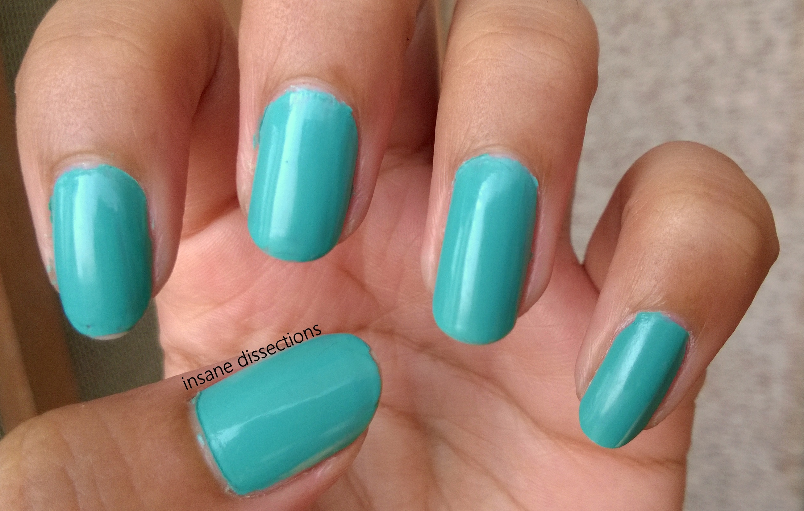 Maybelline Express Finish Nail Enamel – Turquoise Lagoon: Review ...