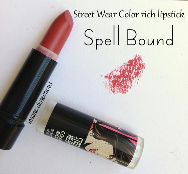 streetwear lipstick spell bound