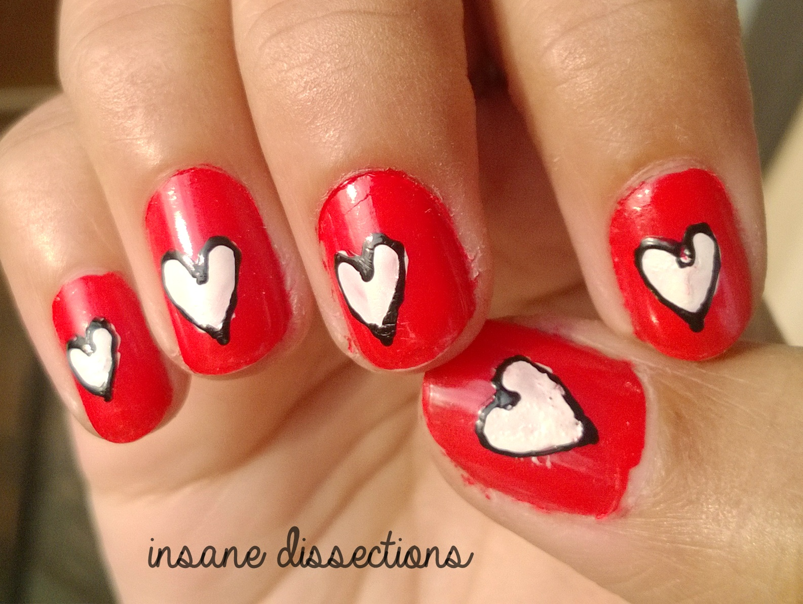 Valentines Day Nail Art Part 3 Insane Dissections