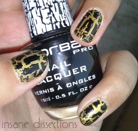 colorbar pro nail lacquer crackle