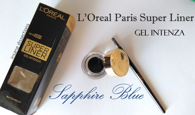 Loreal Paris super liner sapphire blue review