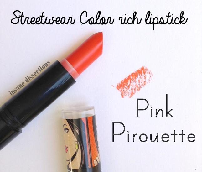 pink pirouette streetwear
