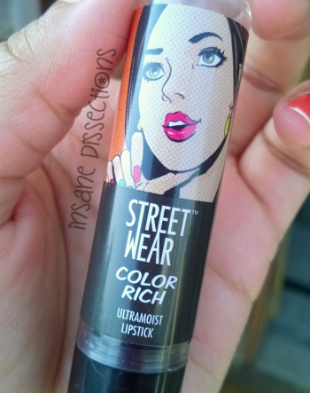streetwear orange lipstick review