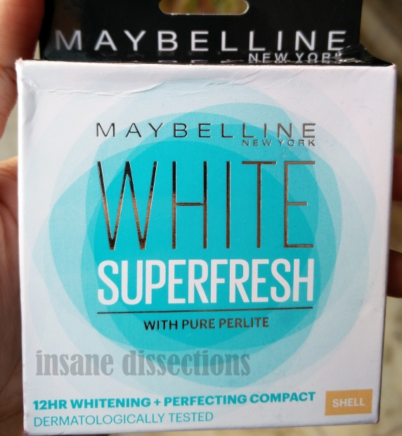maybelline white compact review