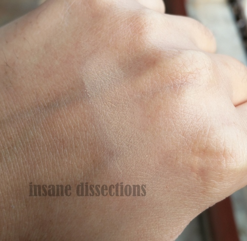 maybelline white superfresh shell swatch