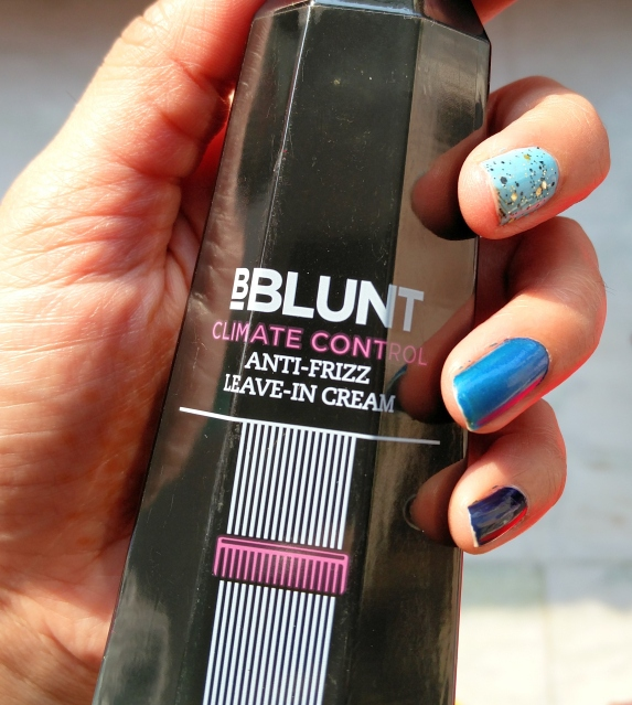 Bblunt climate control anti frizz leave in cream