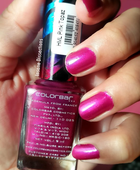 Colorbar heavy metal nailpolish