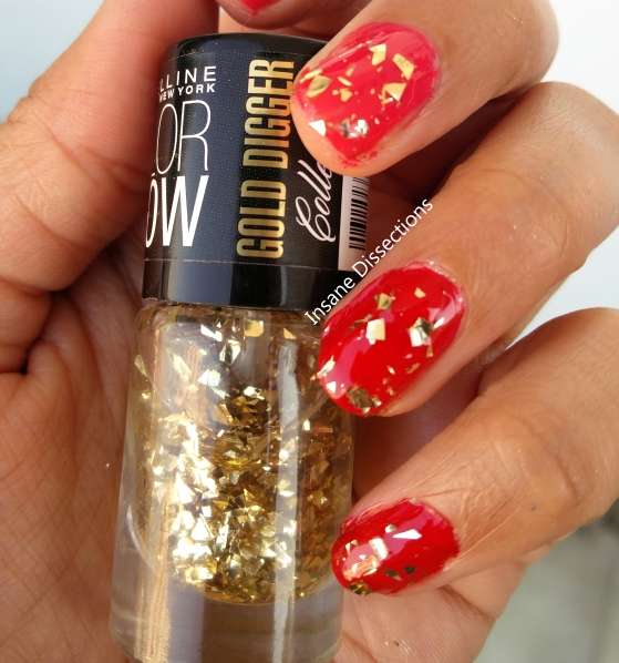 colorshow gold digger gold gluttony swatch