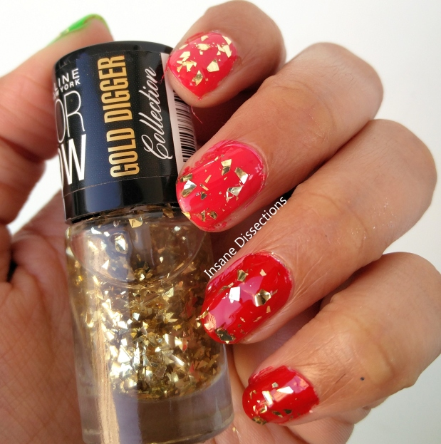 gold gluttony nail polish maybelline