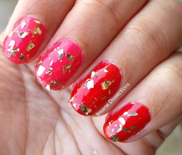 gold gluttony nail polish