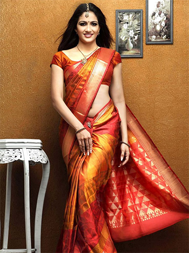 Its The Pride And Glam Of South Indian Fashion Series Kanjeevaram Sarees Is Absolute Piece Beauty Posh Craftsmanship State Tamil Nadu
