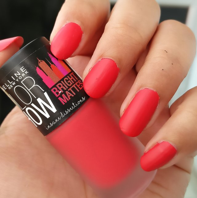 Overall This Is A Beautiful Bright Coral Red Color And If You Want To Experiment With Matte Finish Definitely Check Shade Nailpolish Tend