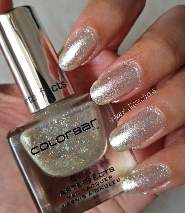 Colorbar Arteffects Luxe Nail Lacquer ~ Snow White : Review & Swatch ...