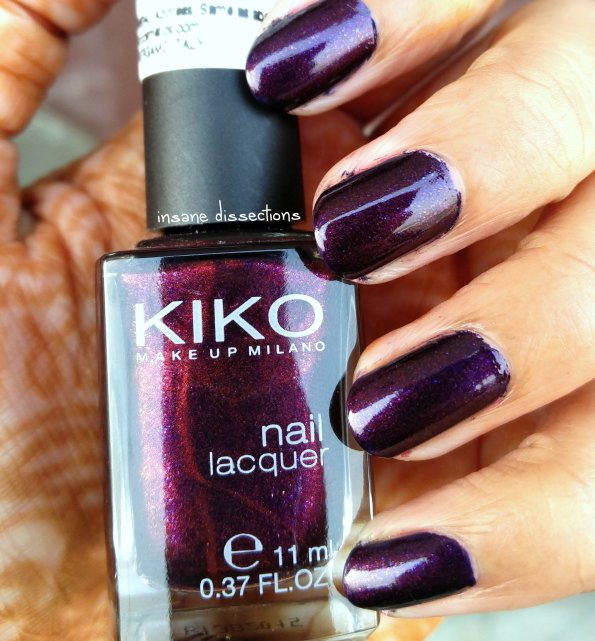 Kiko Nail Lacquer ~ 497 Pearly Indian Violet: Review & Swatch ...