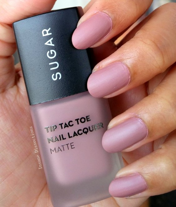 Sugar Tip tac toe matte nail color price | Insane Dissections