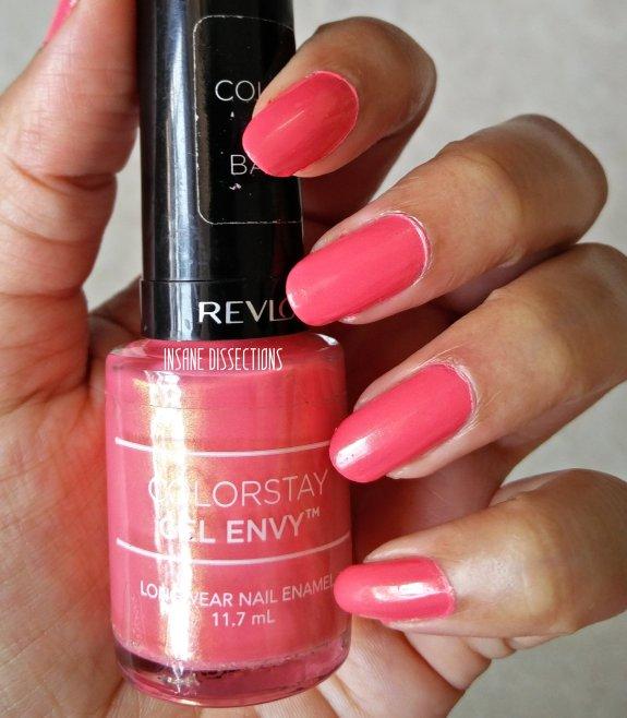 Revlon Colorstay Gel Envy Longwear Nail Enamel : Lady Luck ~ Review ...