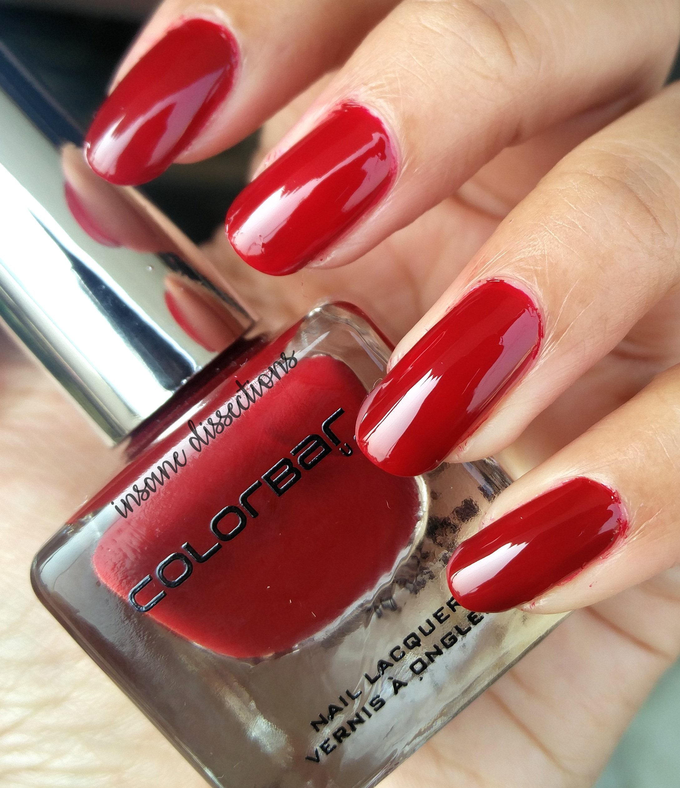 colorbar luxe nail lacquer heroine | Insane Dissections