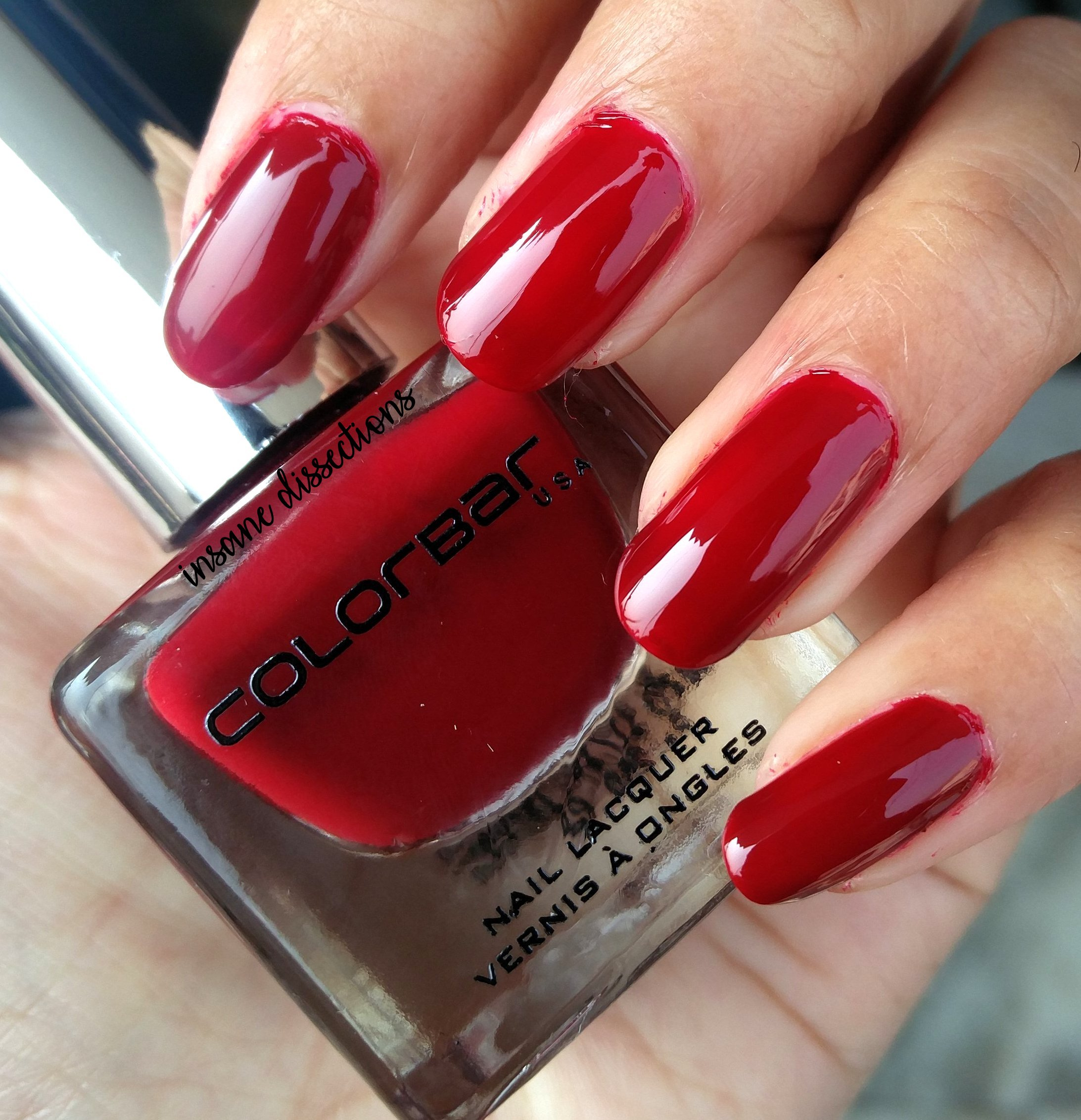 colorbar luxe nailpolish heroine | Insane Dissections