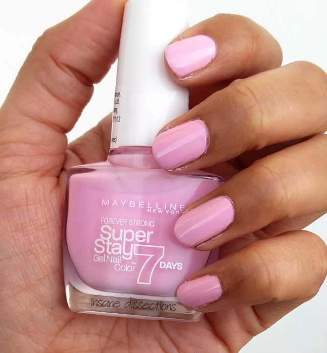 Maybelline Superstay Gel Nail Color : Pink in the Park ~ Review ...