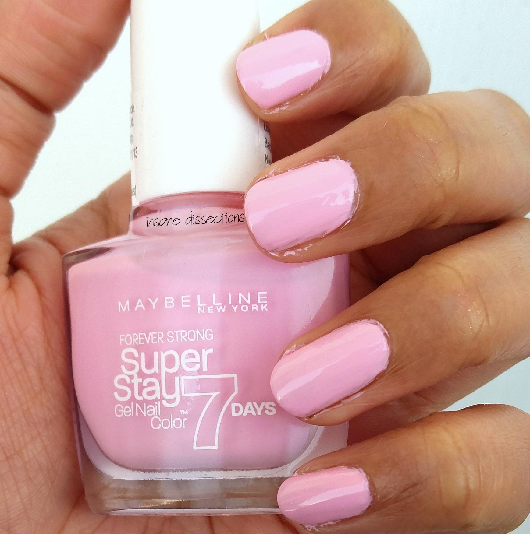 pastel pink nailpolish   Insane Dissections