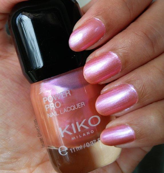 Kiko Power Pro Special Nail Lacquer : 94 Mermaid Pink ~ Review ...