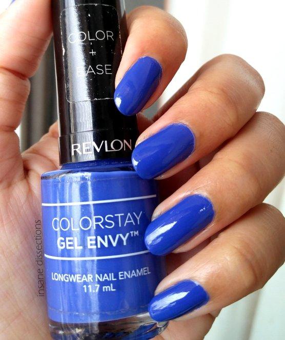 Revlon Colorstay Gel Envy Longwear Nail Enamel : Wild Card ~ Review ...
