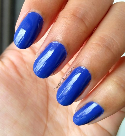 This is an unusual and super gorgeous shade of blue, and if you are a blue nailpolish fan like me, do check this one out. I am sure you too will end up ...