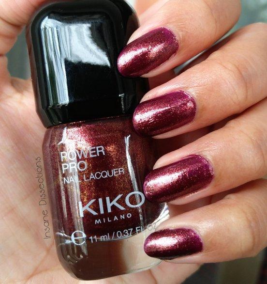 Kiko Power Pro Nail Lacquer : 90 Multicolour Mauve ~ Review & Swatch ...